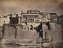 The Maharaja's Fort, Front view [Benares].